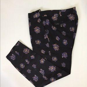 Club Monaco silk/wool blend dress pants